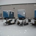 Generators at work.