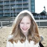 Leanna on the beach
