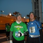 Jeff and I before the race