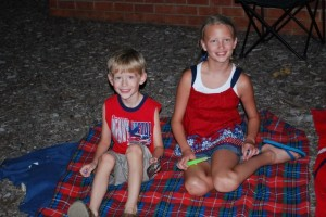 Cooper and Sarah on the 4th