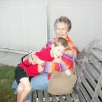 Cooper and Grandma Dixie
